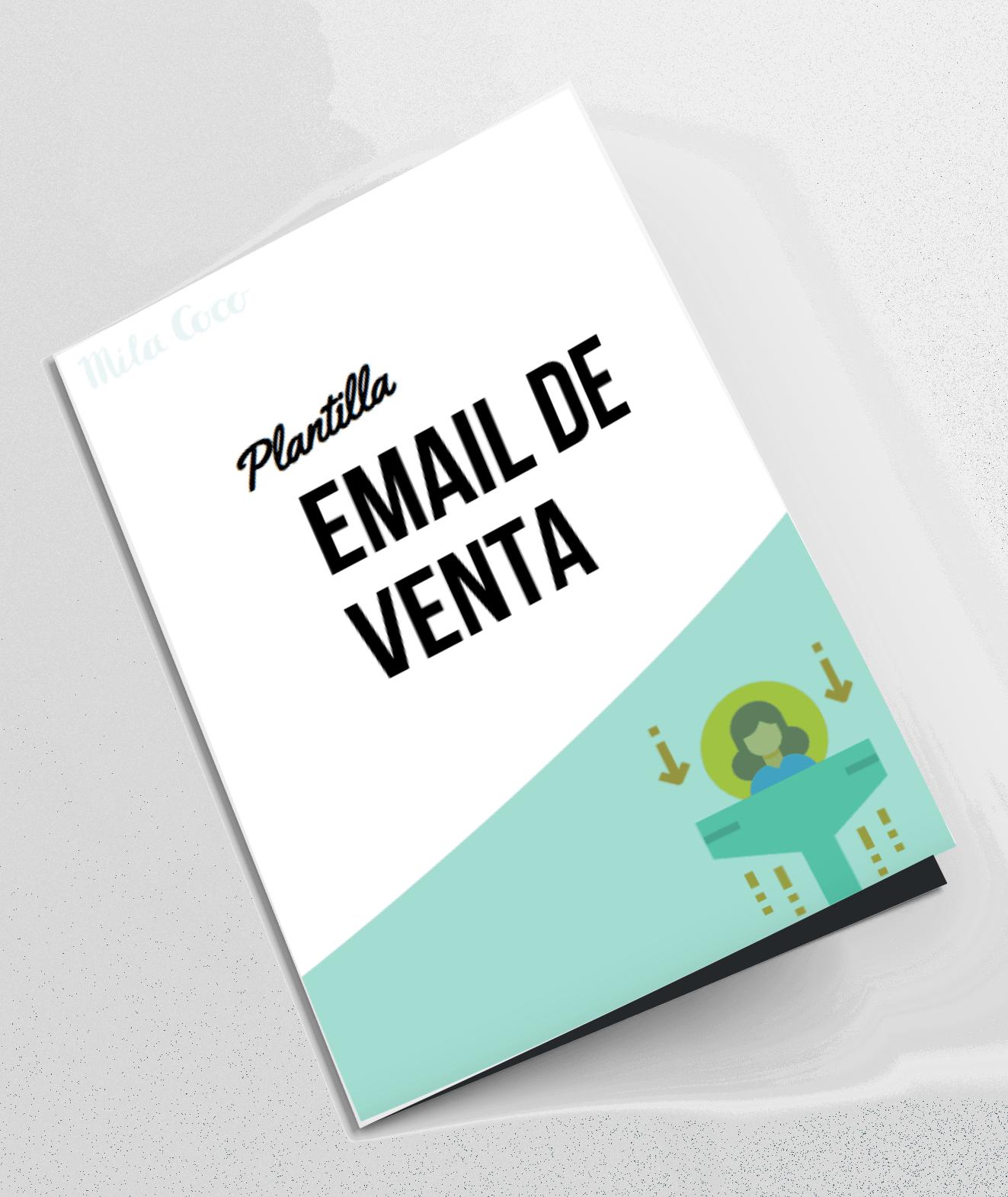 Plantilla email de venta