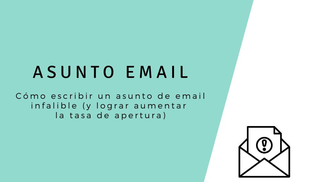 asunto email